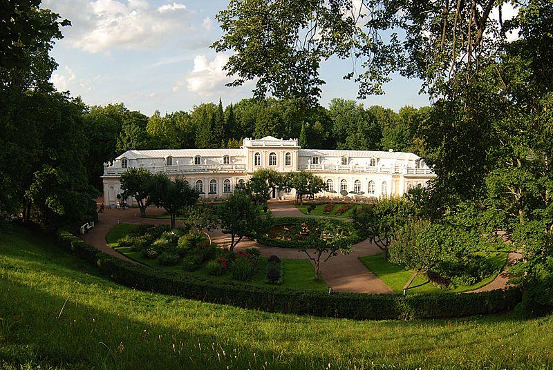 Петергоф. Большая оранжерея в Нижнем парке