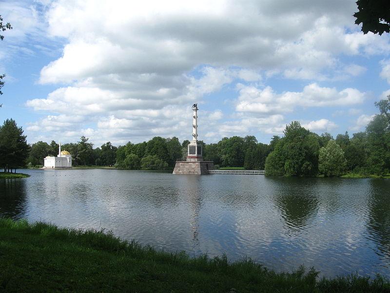 Царское Село. Чесменская колонна. Автор:  Ljubimaja Muza, Wikimedia Commons
