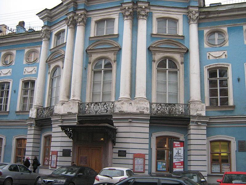 Шуваловский дворец. Автор: Peterburg23, Wikimedia Commons