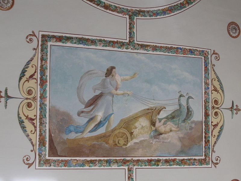 Павильон Концертный зал. Интерьеры. Автор: Ljubimaja Muza, Wikimedia Commons