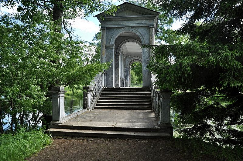 Царское Село. Мраморный мост. Автор:  Златогорский Владимир, Wikimedia Commons