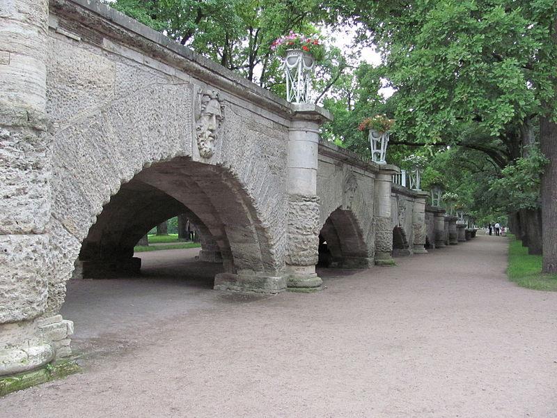 Пандус в Екатерининском парке. Автор: Pafunty, Wikimedia Commons