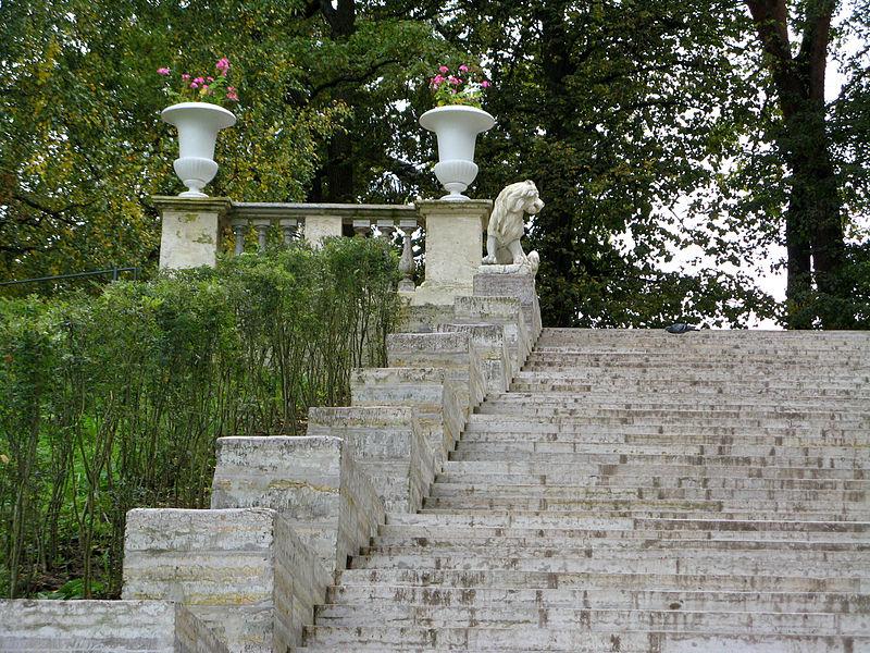 Лестница Большая Каменная (Итальянская). Автор: Екатерина Борисова, Wikimedia Commons