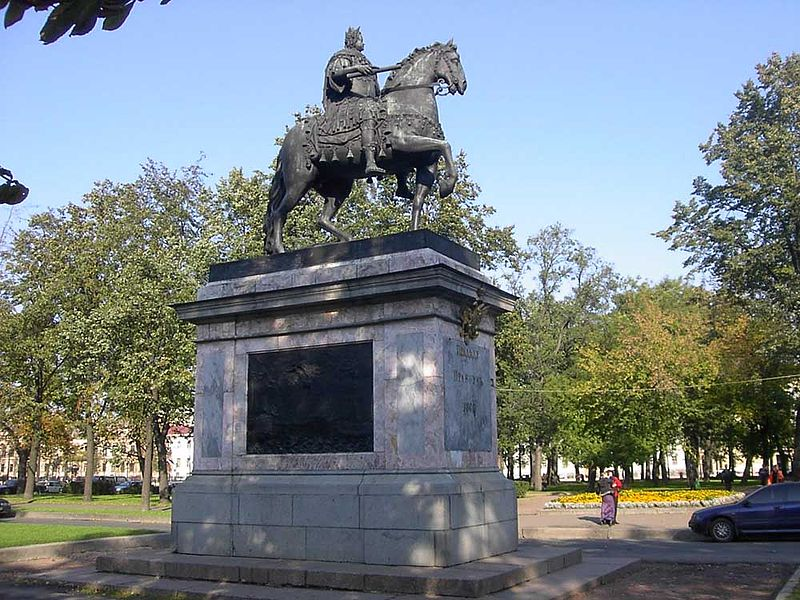 Памятник Петру I. Автор: Alexander Razumov, Wikimedia Commons