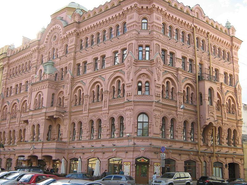 Собственный дом архитектора Н.П. Басина. Автор: Peterburg23, Wikimedia Commons