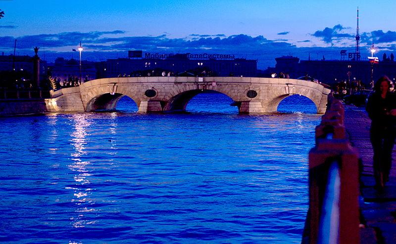 Прачечный мост. Автор: George Shuklin, Wikimedia Commons
