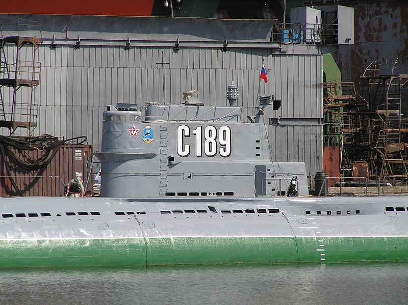 Подводная лодка С 189. Автор: Vladimir Volokhonsky, Wikimedia Commons