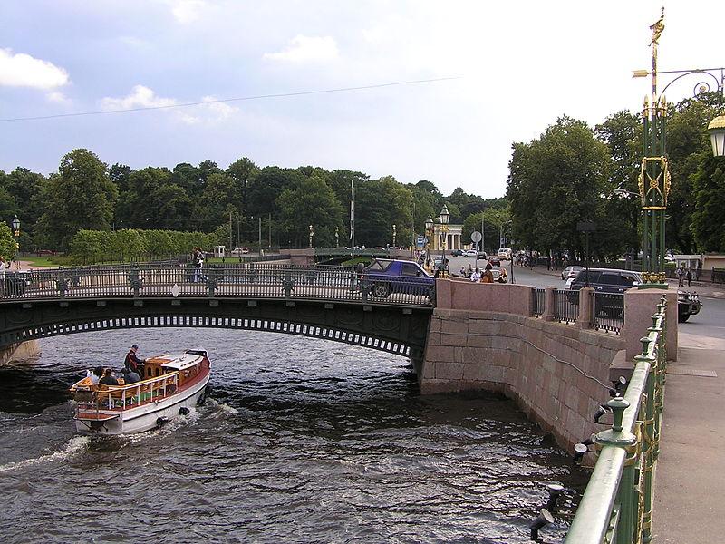 Пантелеймоновский мост. Автор: Michael Hoffmann (Hamlet53), Wikimedia Commons