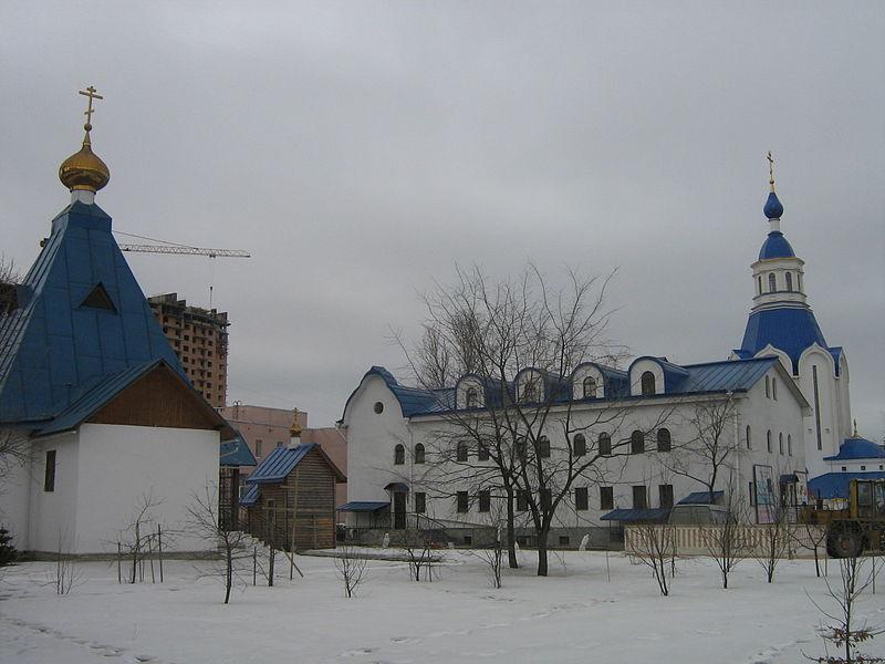 Церковь Воскресения Христова в Шушарах. Автор: Peterburg23, Wikimedia Commons