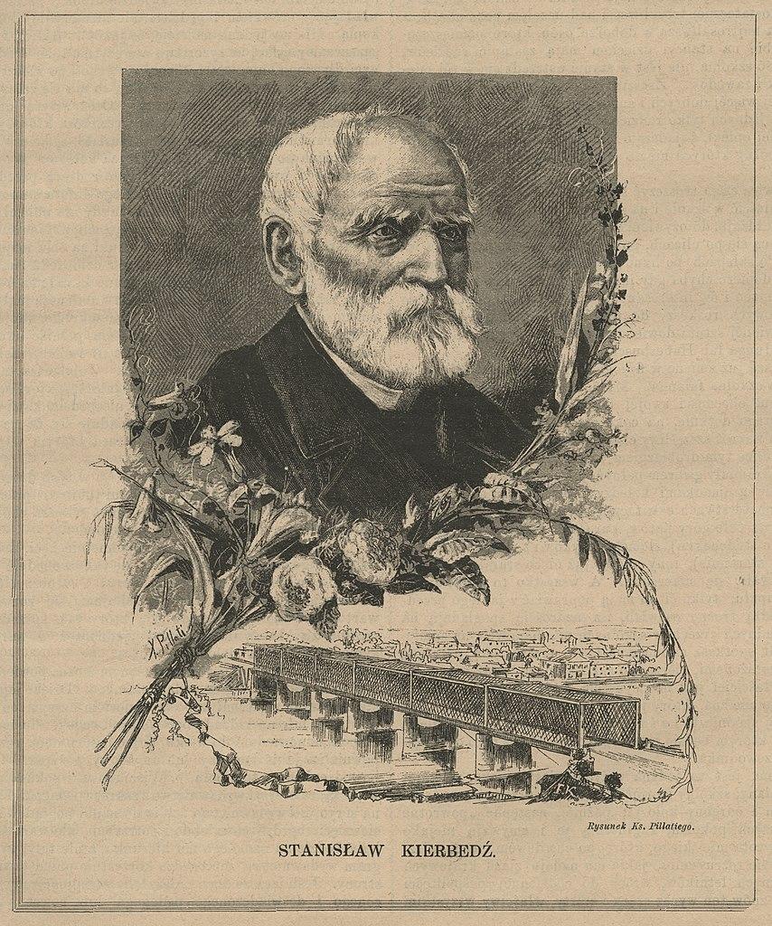 Most Kierbedzia, 1889 г. (Mazovian Digital Library)