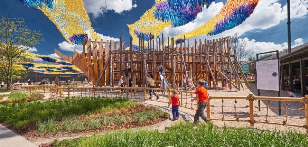 "Детская площадка ""Фрегат"". Фото: newhollandsp.ru"