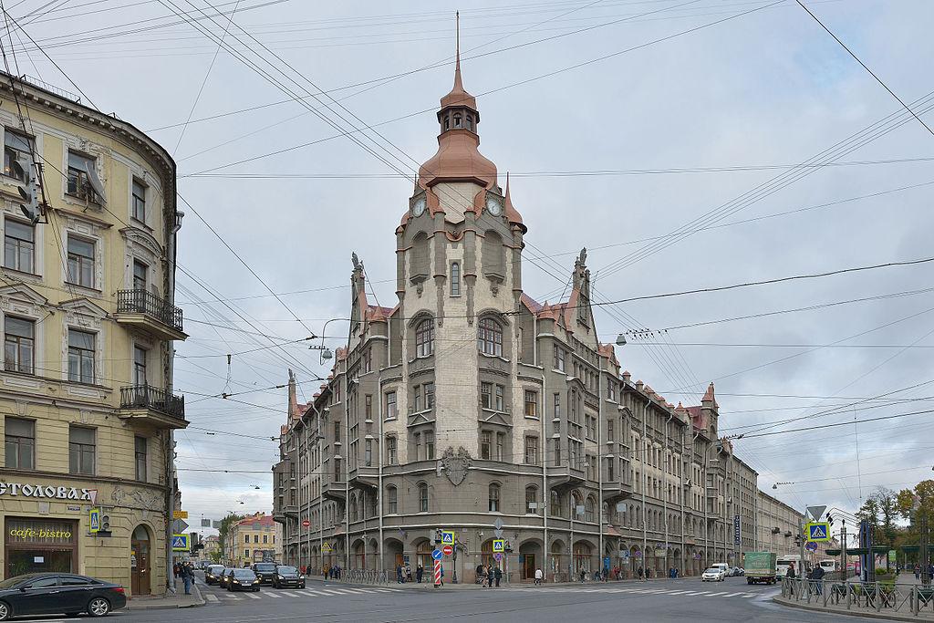 Дом городских учреждений. Фото: Wolfgang Moroder (Wikimedia Commons)