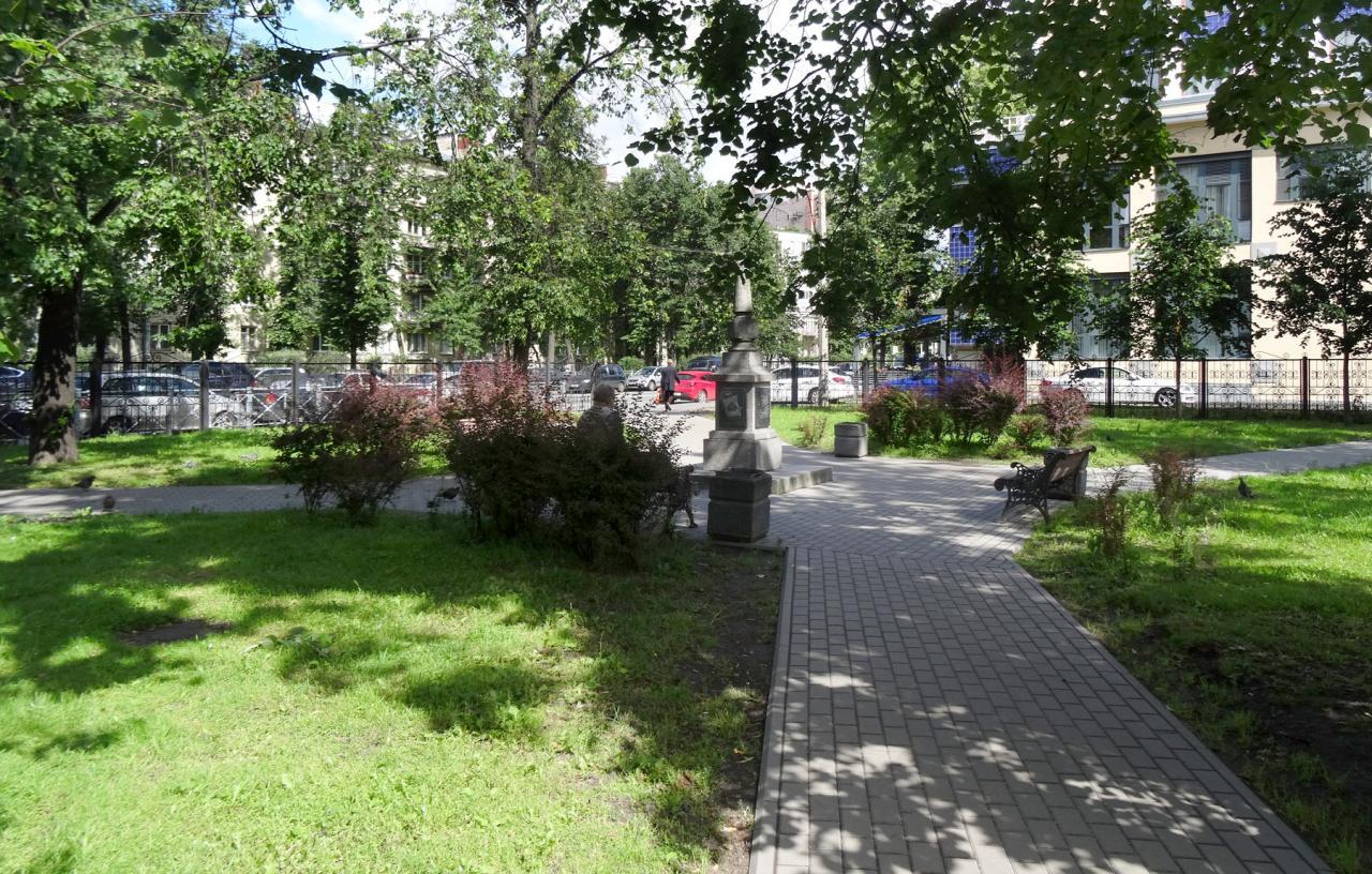 Лодейнопольский сквер. Фото: citywalls.ru
