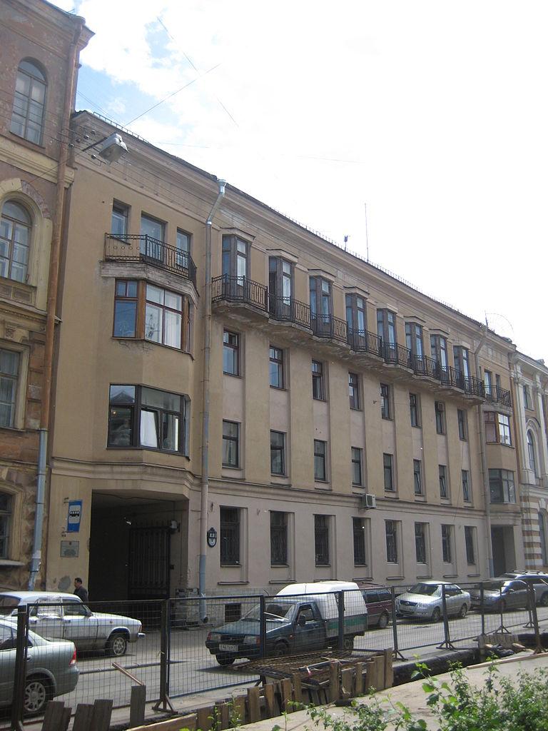 Администрация Центрального района, Моховая, 8. Фото: Skydrinker (Wikimedia Commons)