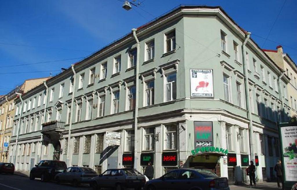 Дом Е. Ю. Вельцына, Столярный переулок, 2. Фото: citywalls.ru