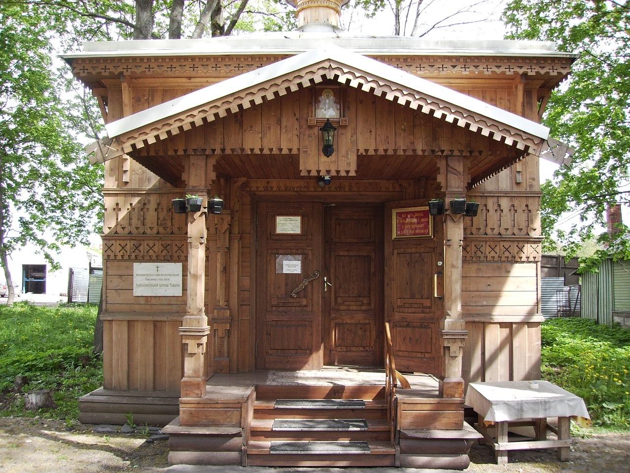 Храм-часовня во имя Святой благоверной царицы Тамары Великой. Фото: Andrius  Zhaltauskas