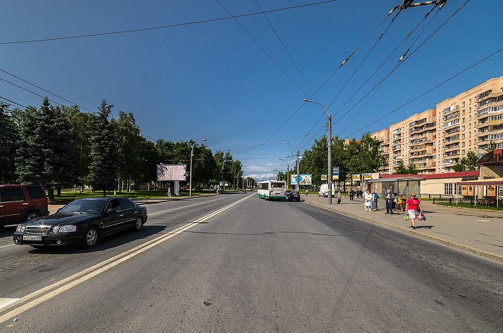 Улица партизана Германа. Фото: Florstein (WikiPhotoSpace)