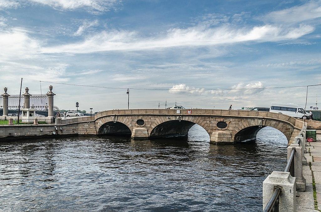 Прачечный мост в Санкт-Петербурге. Фото: Alex 'Florstein'