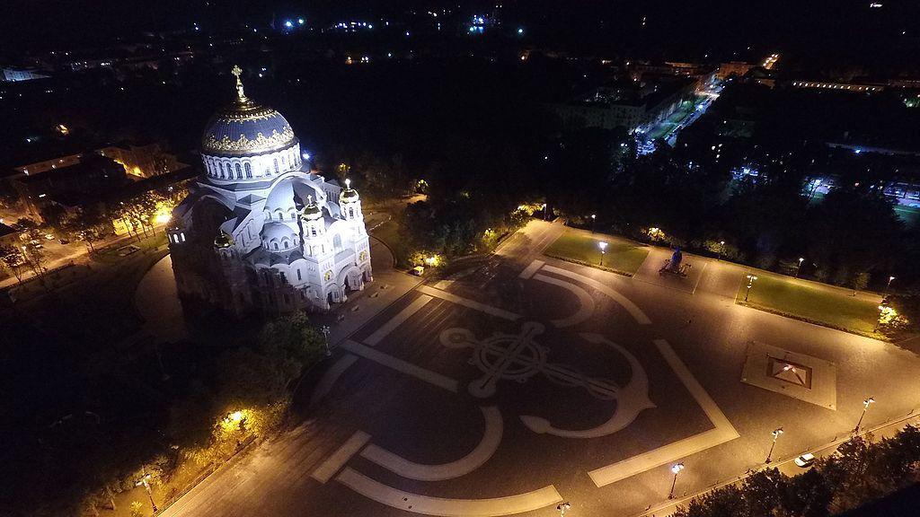 Кронштадт. Якорная площадь. Фото: Илья Сумерин