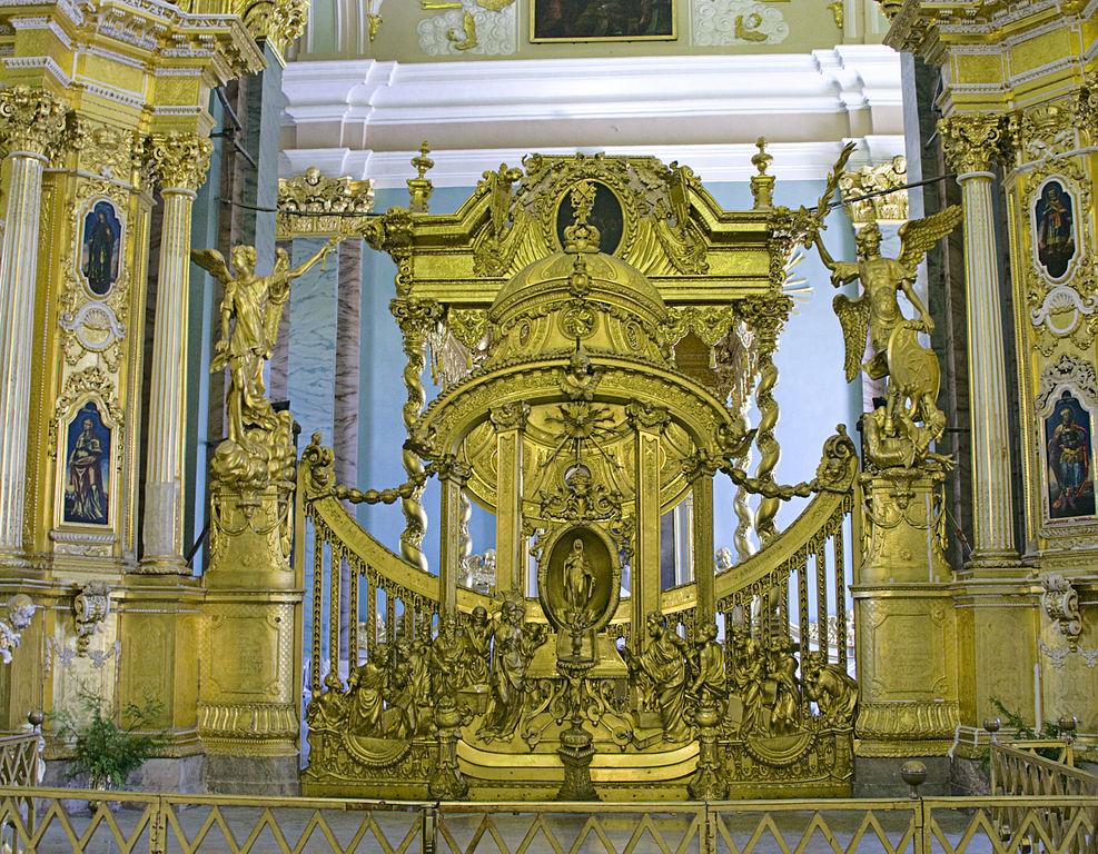 Царские врата в Петропавловском соборе. Фото: Ealdgyth (Wikimedia Commons)