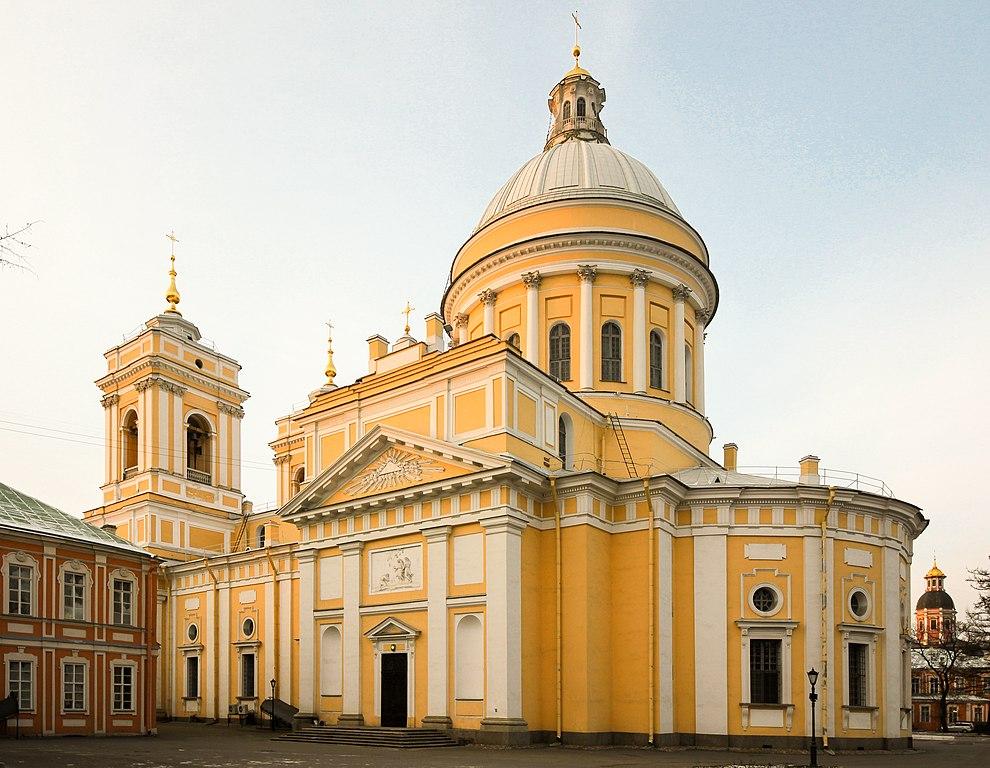 Троицкий собор Александро-Невской лавры. Фото: Lion10~commonswiki (Wikimedia Commons)