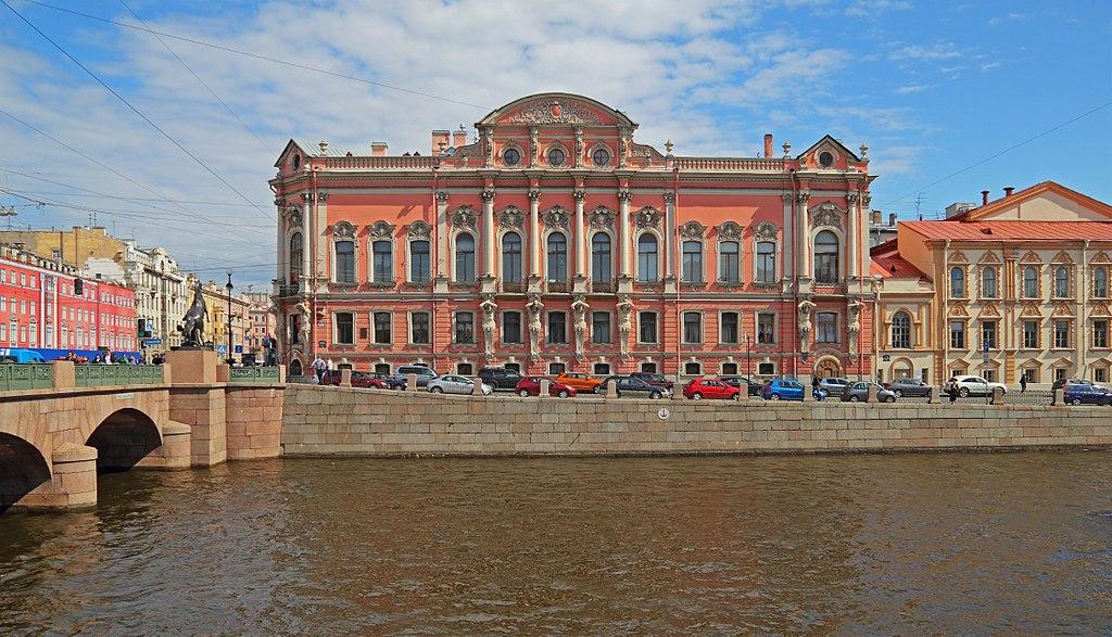 Дворец Белосельских-Белозерских. Фото: A.Savin (Wikimedia Commons · WikiPhotoSpace)