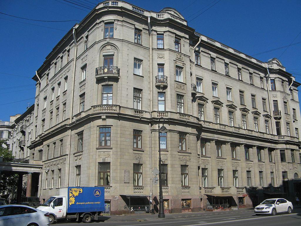 Дом 3-х Бенуа. Фото: Екатерина Борисова (Wikimedia Commons)