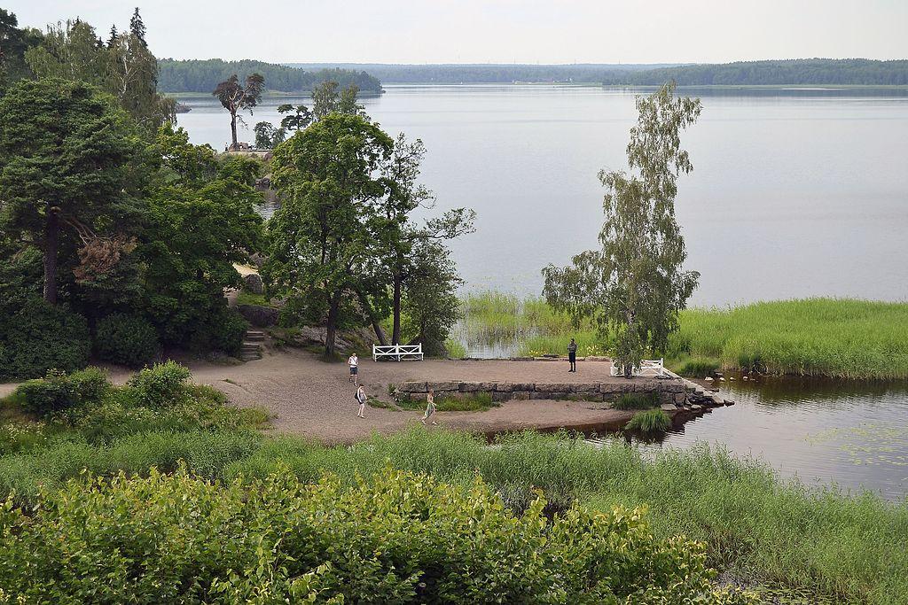 Выборг, парк Монрепо.Автор фото: MrStepanovka (Wikimedia Commons)