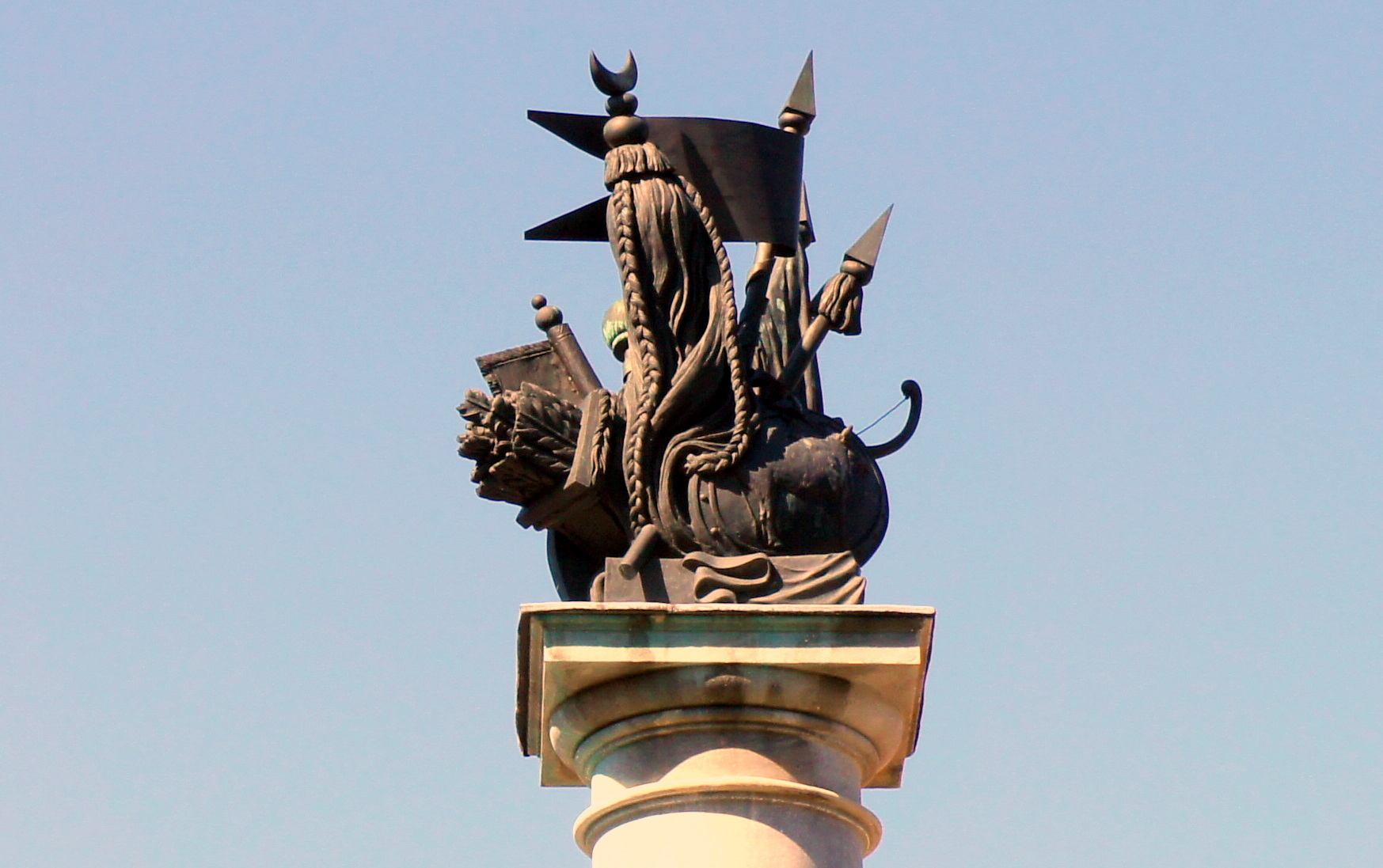 Парковая, 64. Крымская (Сибирская) колонна. Фото: tsarselo.ru