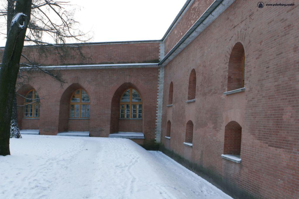Петропавловская крепость. Петровская куртина