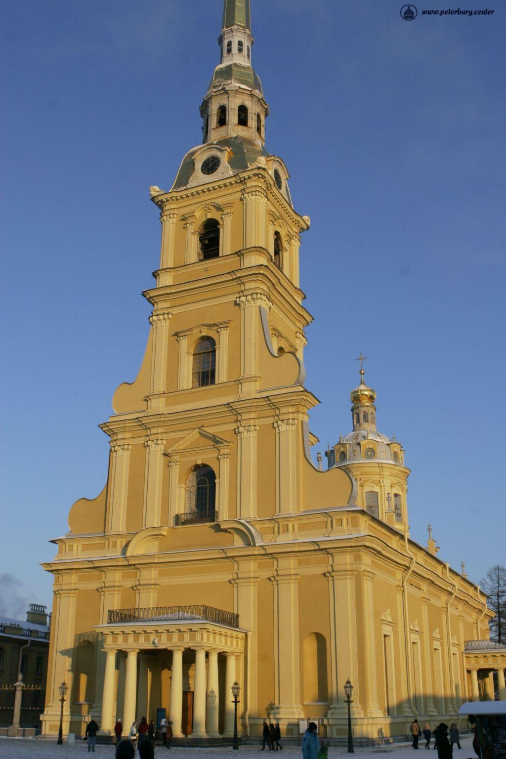 Фотография Петропавловского Собора в Петропавловской крепости