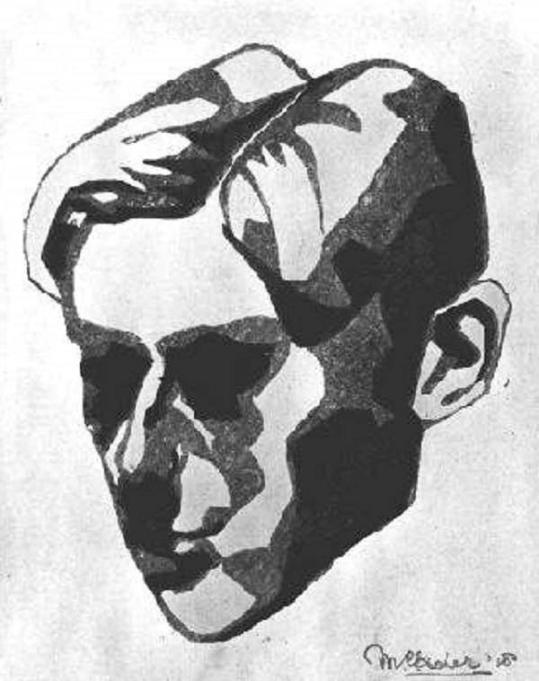 А. П. Антропов. Автопортрет