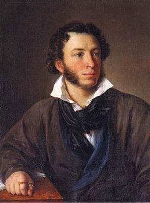 Портрет А. С.Пушкина, 1827 г. Художник: Василий Андреевич Тропинин