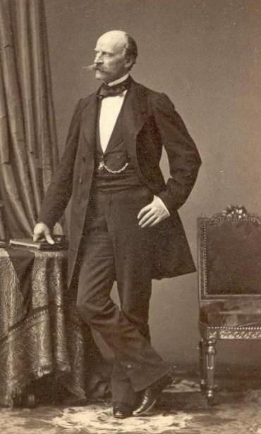 Альфонс Августинович Бетанкур. Автор: André-Adolphe-Eugène Disdéri