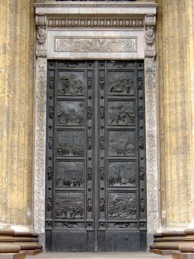 "Казанский собор.""Флорентийские врата"". Фото:  pinterest.de"