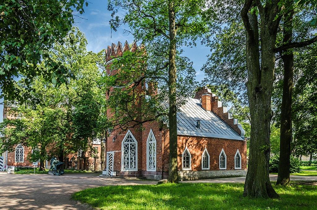 Адмиралтейство в Екатерининском парке Царского села. Автор фото: Florstein (WikiPhotoSpace)