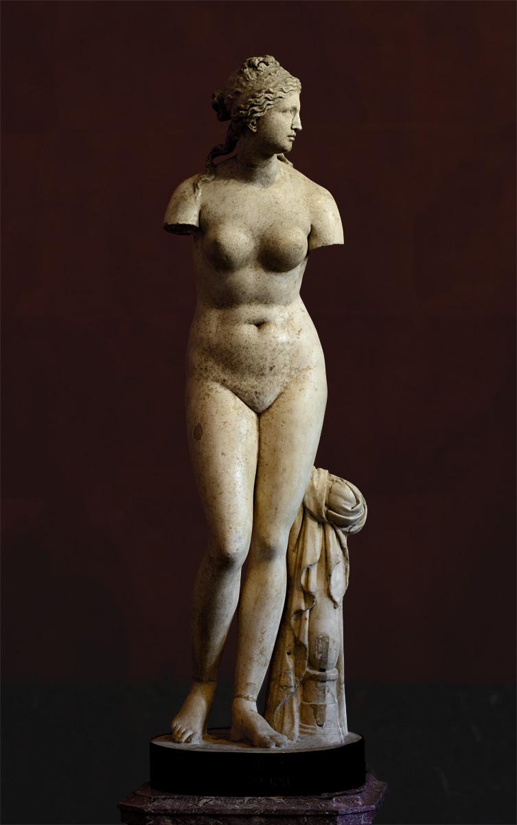Афродита (Венера Таврическая), источник фото: http://ancientrome.ru/art/artwork/img.htm?id=5740