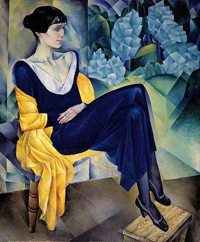 Н. Альтман. Портрет А. А. Ахматовой, 1914 год. Русский музей (Wikimedia Commons)
