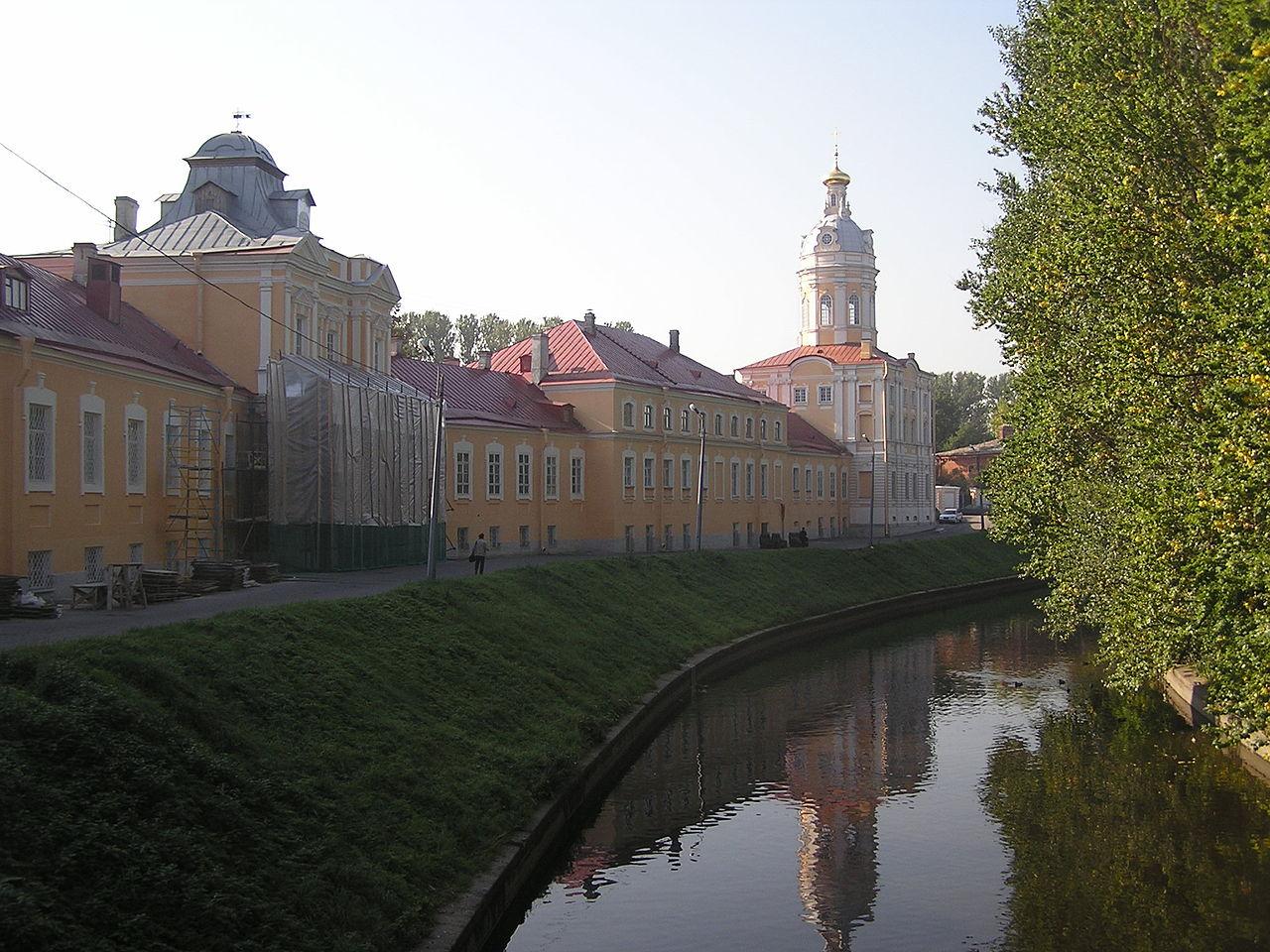 Александро-Невская лавра. Автор фото: Andrew Butko (Wikimedia Commons)