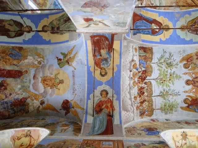 Александро-Свирский монастырь. Фрески. Фото: Leon petrosyan (Wikimedia Commons)