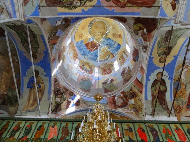 Александро-Свирский монастырь. Свод. Фото: Leon petrosyan (Wikimedia Commons)