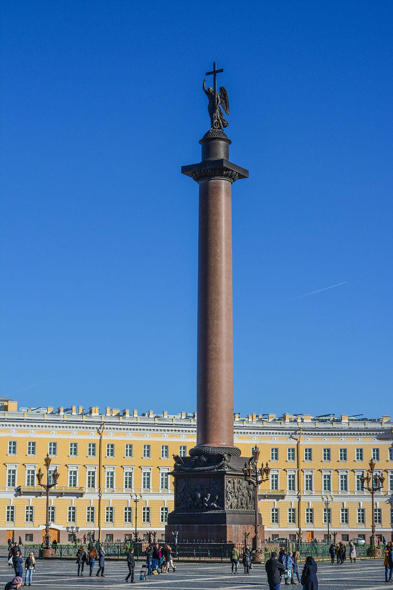 Александровская колонна. Автор Антон Шестаков