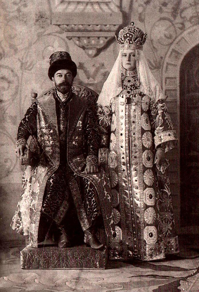 Николай и Александра. Фото: Original uploader was Crimea at hu.wikipedia