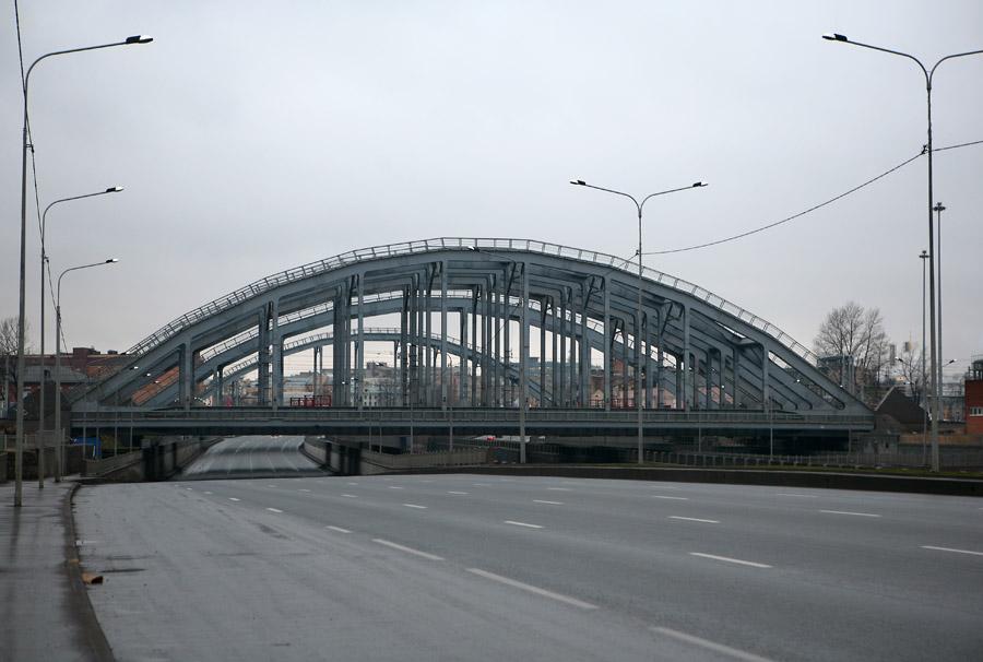 """""""Американские"""" мосты через Обводный канал, 2007-2012 гг."""