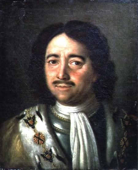 Алексей Петрович Антропов Портрет Петра I