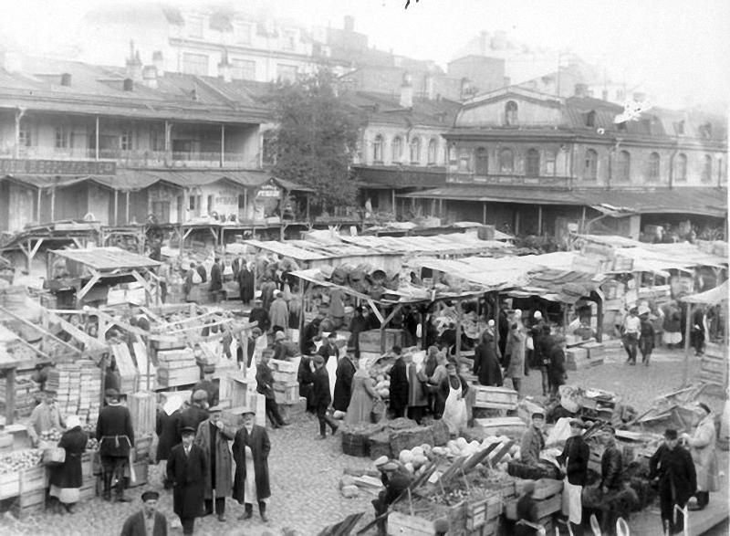 Апраксин двор. 1924 год