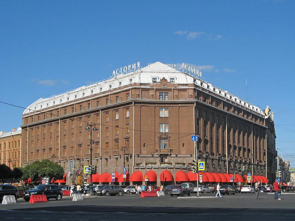 """Гостиница """"Астория"""". Фото: Екатерина Борисова (Wikimedia Commons)"""