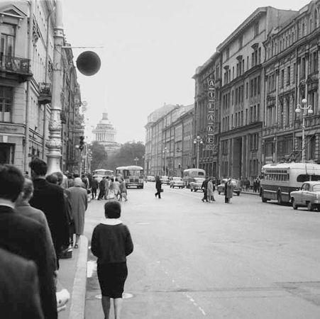 Ателье мод на Невском, 1963 г.