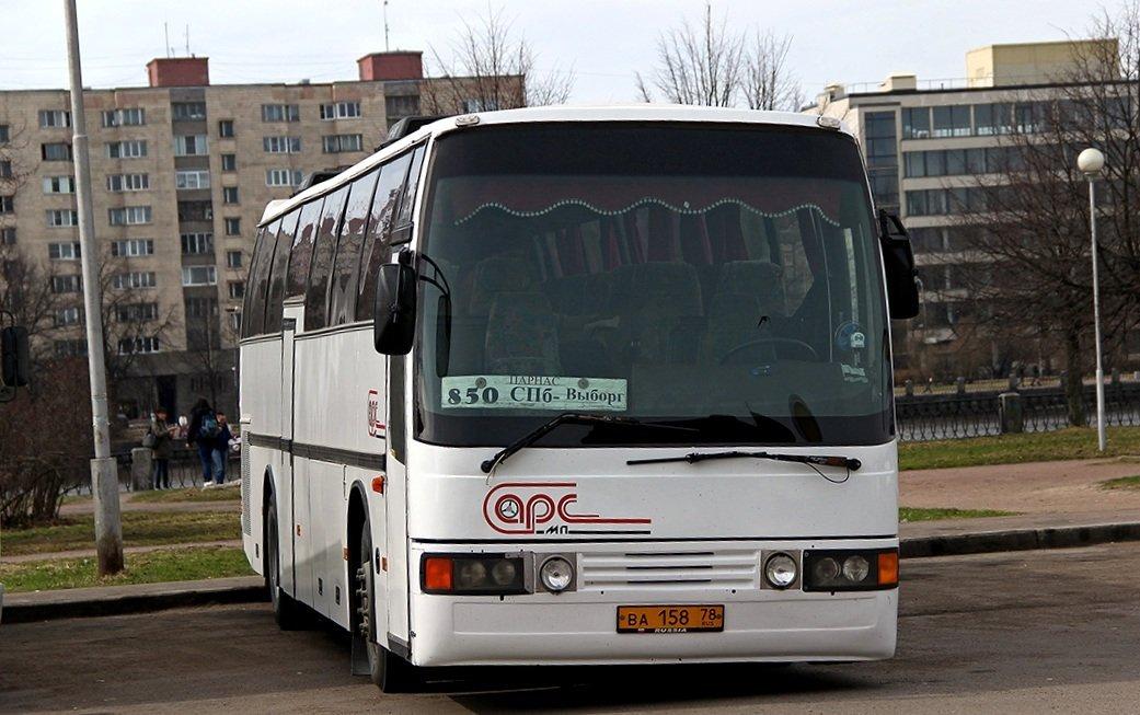 Автобус на Выборг