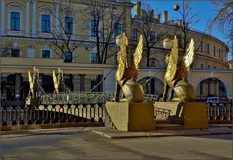 Банковский мост.Автор фото: Vlad&Mirom (Wikimedia Commons)